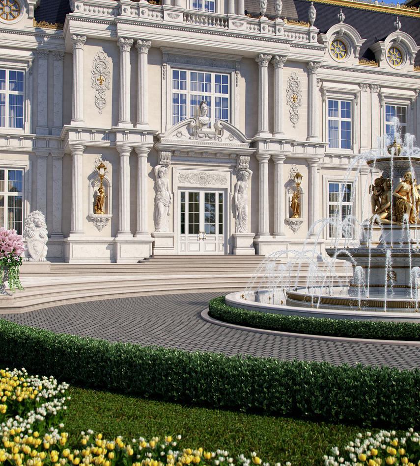Palace windows MIRT for a luxury villa