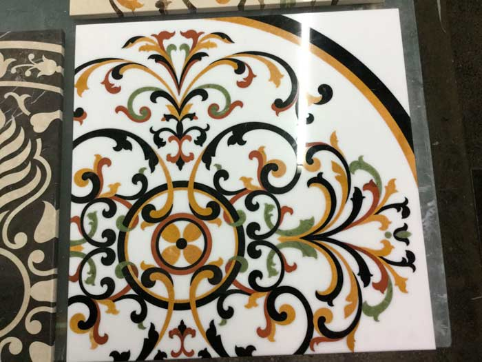 Marble inlays production