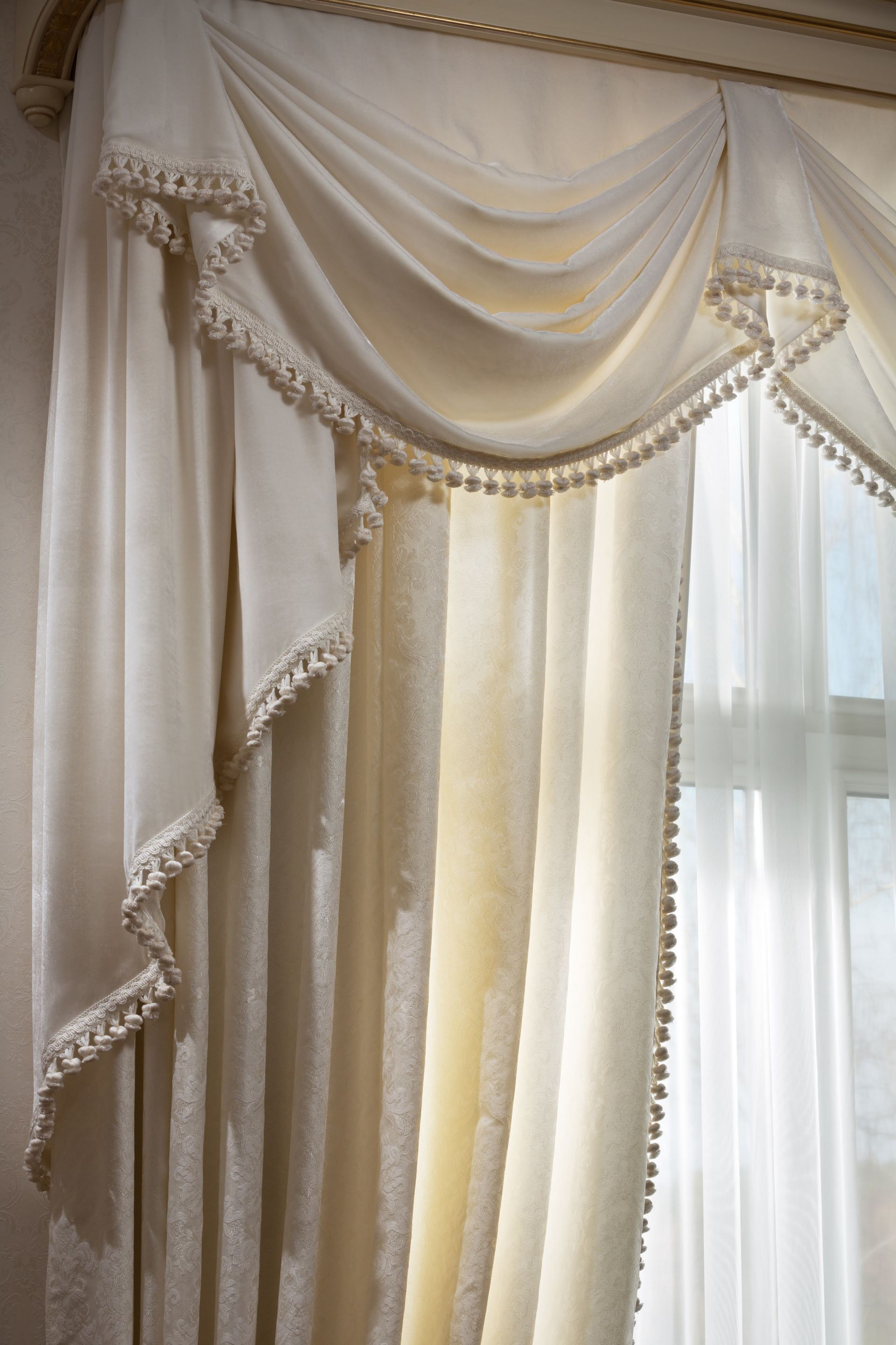 Curtains in an interior