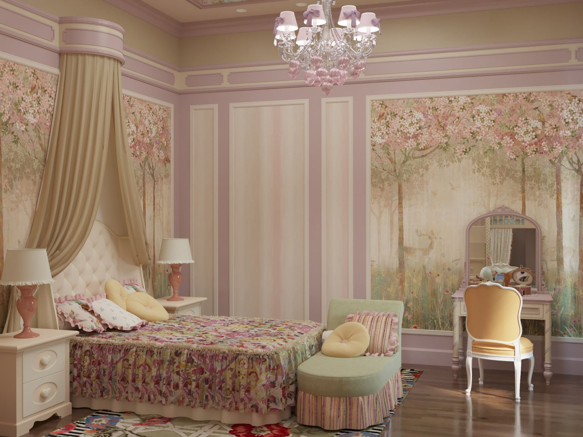 Children's bedroom design
