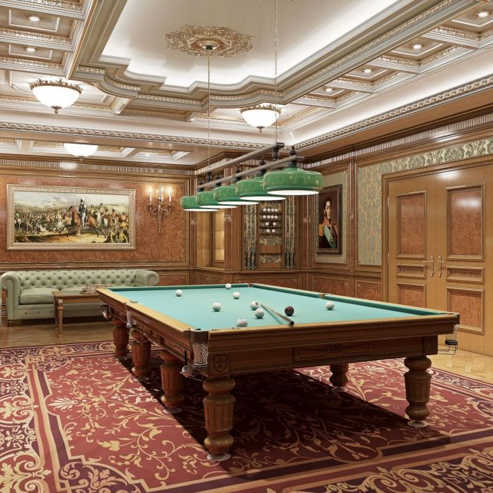 Billiard room design